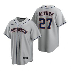 Youth Houston Astros Jose Altuve Gray Jersey